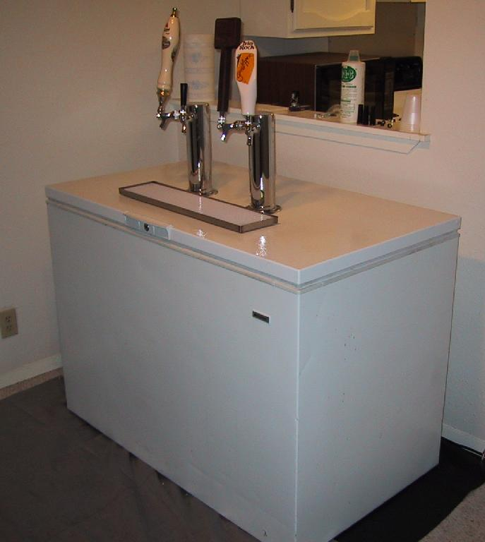 Which fridge opinions needed dispense forum discuss keg beer kegerators wine on tap and Home bar furniture with kegerator